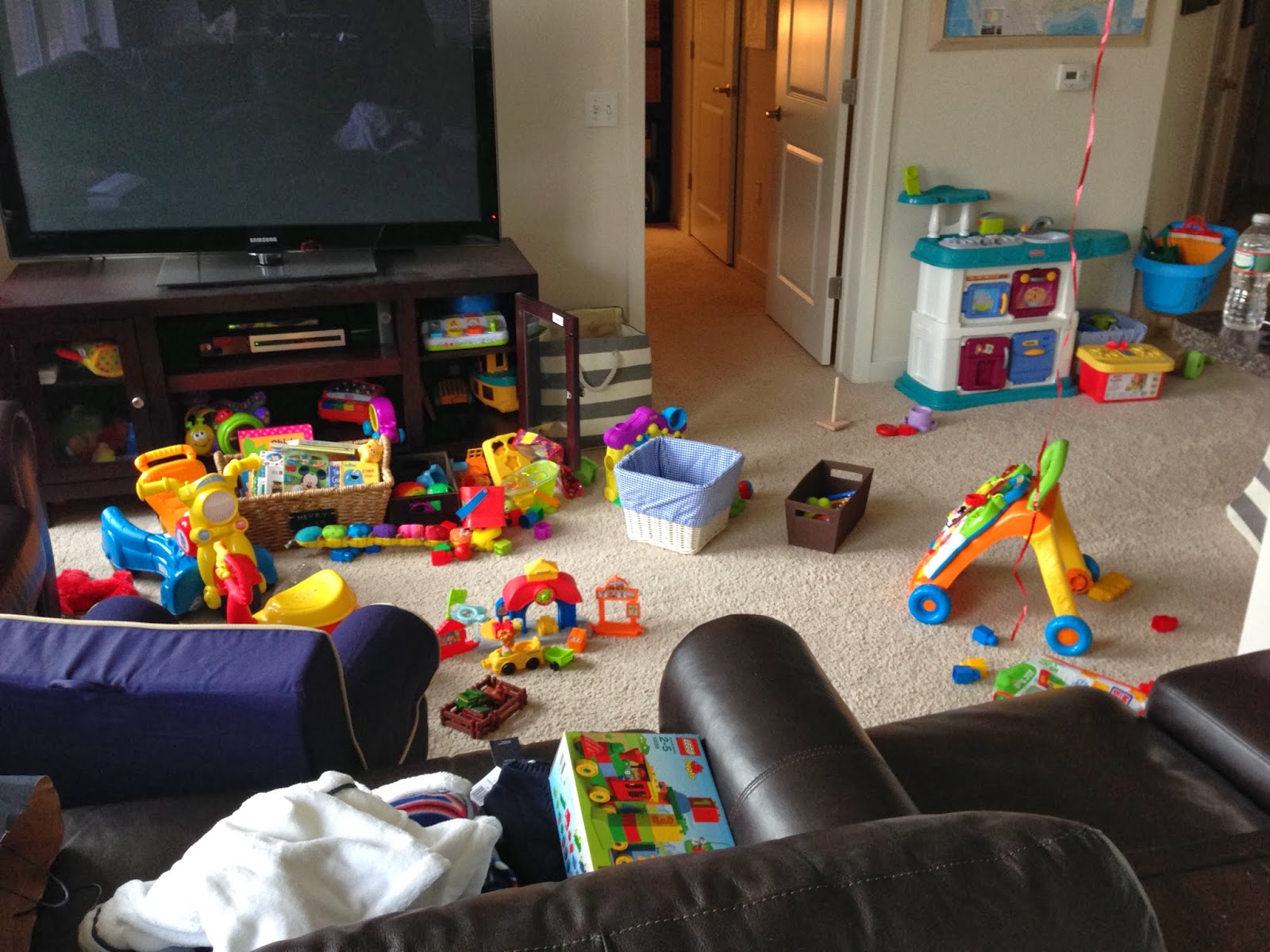 Toys In The Living Room