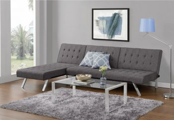 The Best Small Sleeper Sofa – DHP Emily Convertible Linen Futon Review