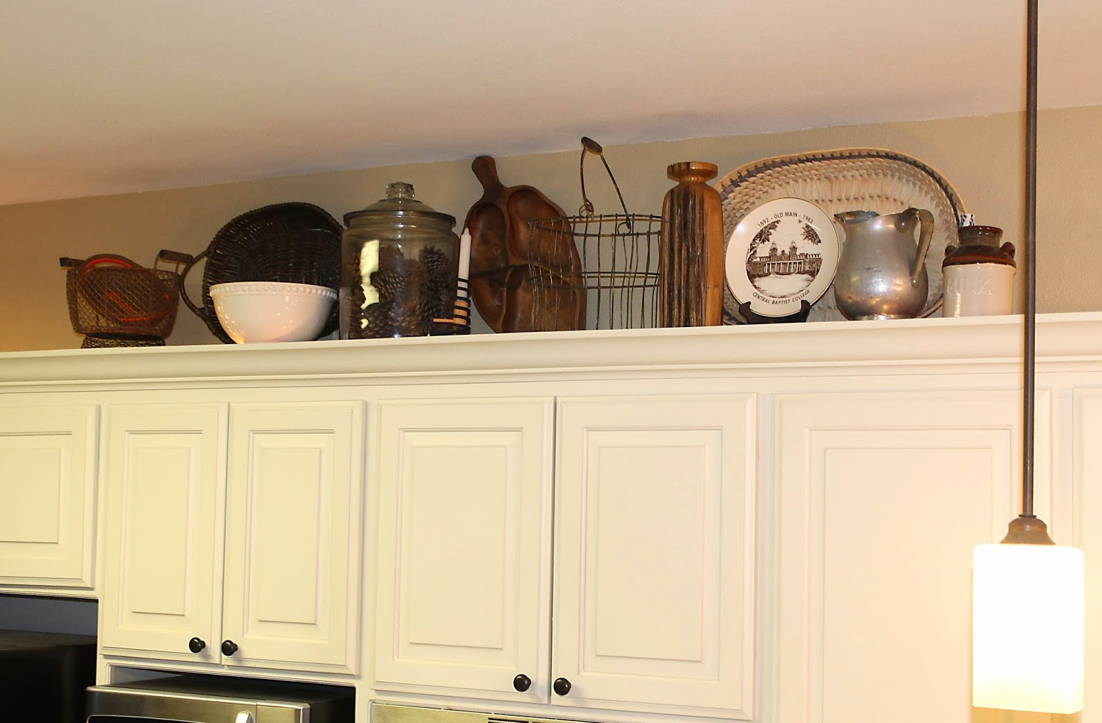 Above-Cabinet Baskets