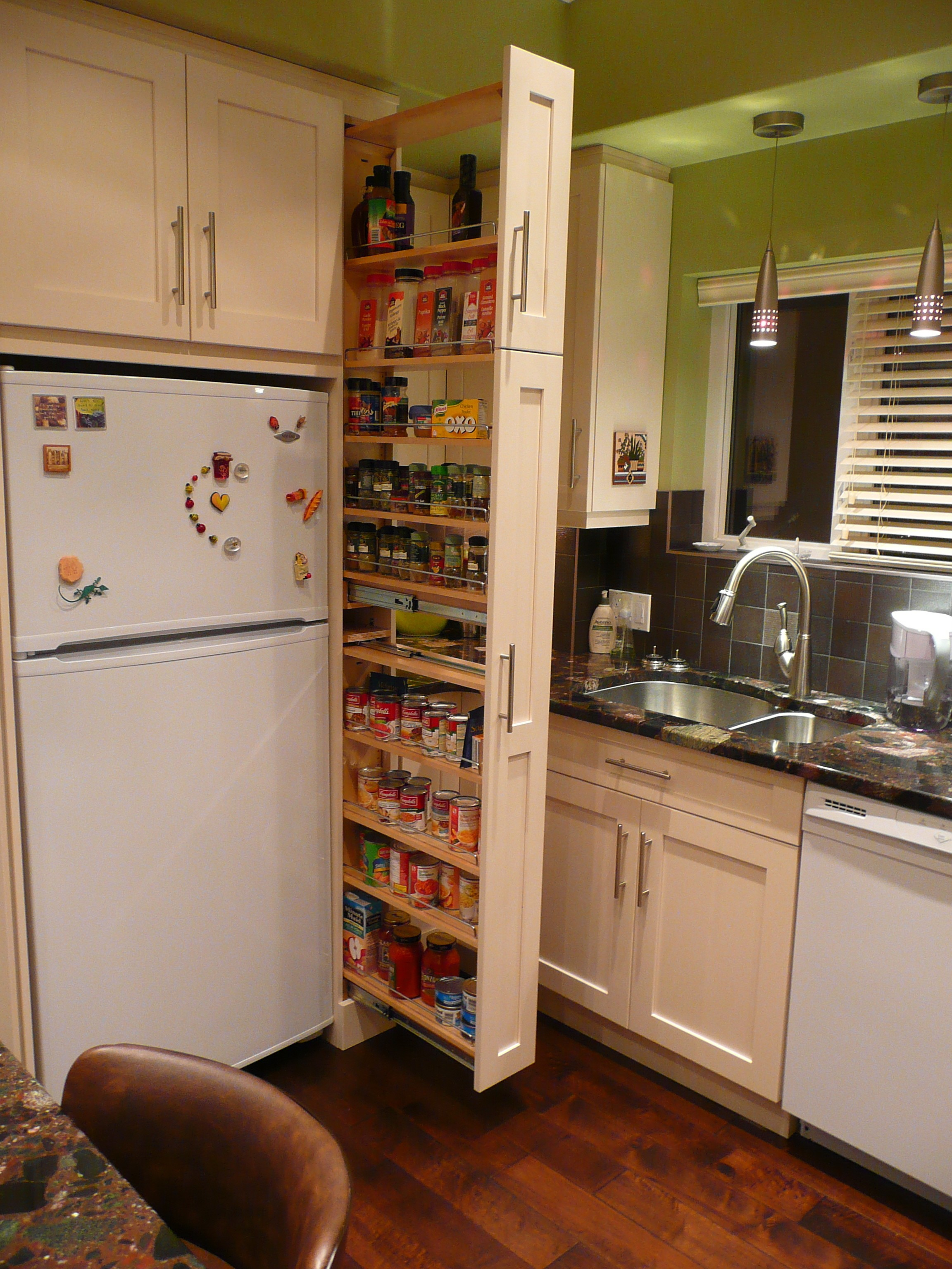 pullout-pantry - Small Kitchen Ideas