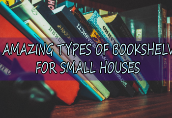 11 Different Types Of Bookshelves For Small Houses
