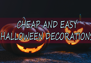 Cheap and Easy Halloween Decorations in 2016