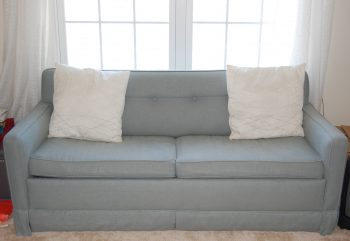 How to Reupholster Sleeper Sofas