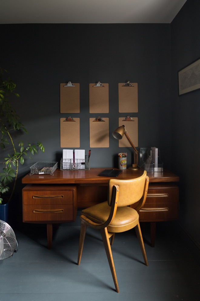vintage home office idea