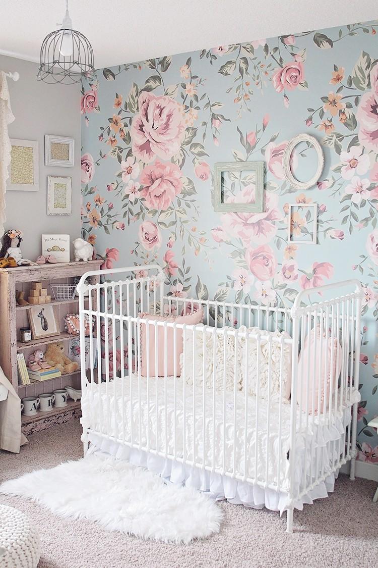 vintage nursery room