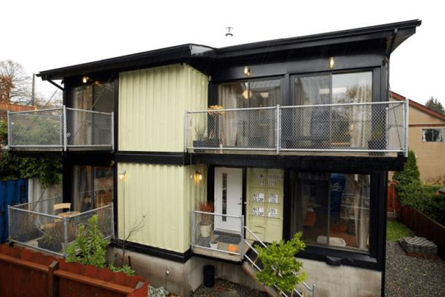 beautiful container house idea