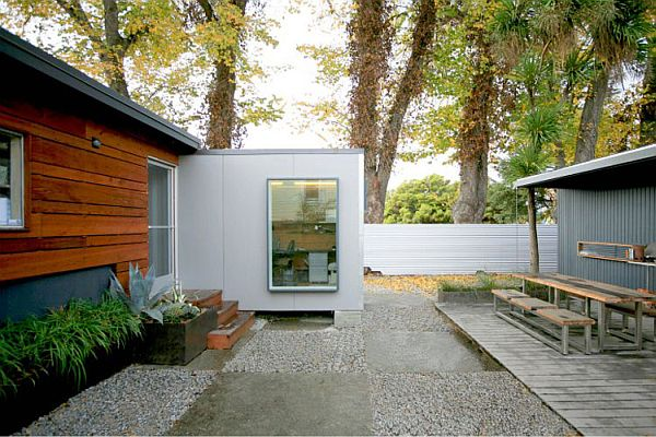 shipping container house idea
