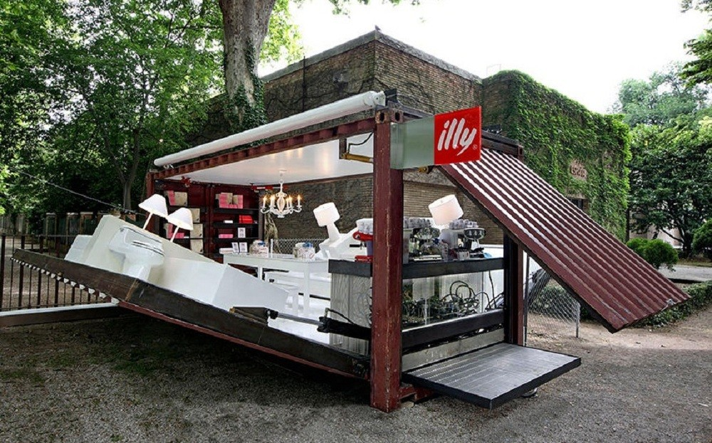 Container home Illy design