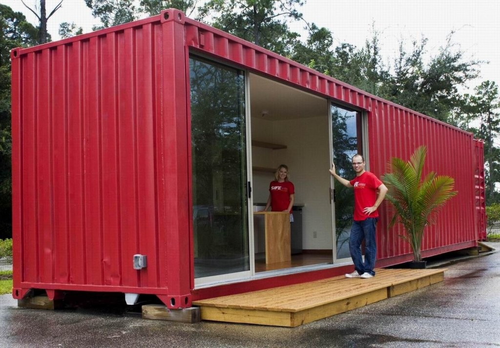 red container home