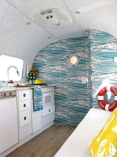 travel trailer nautical Experience