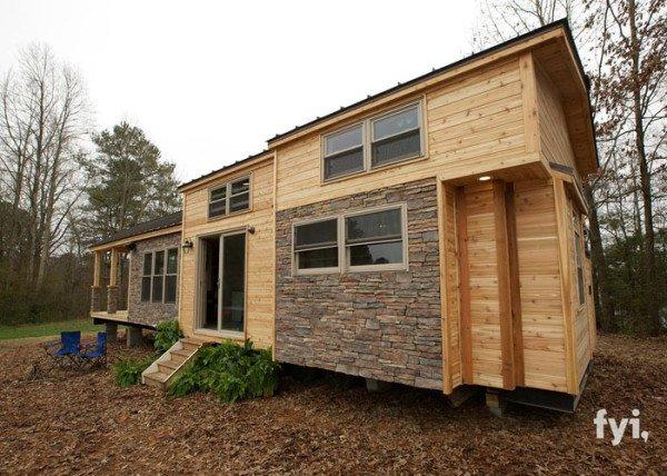 Teeny tiny house exterior
