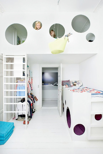 top space loft bed