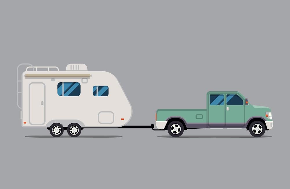 RV brake controller for trailer