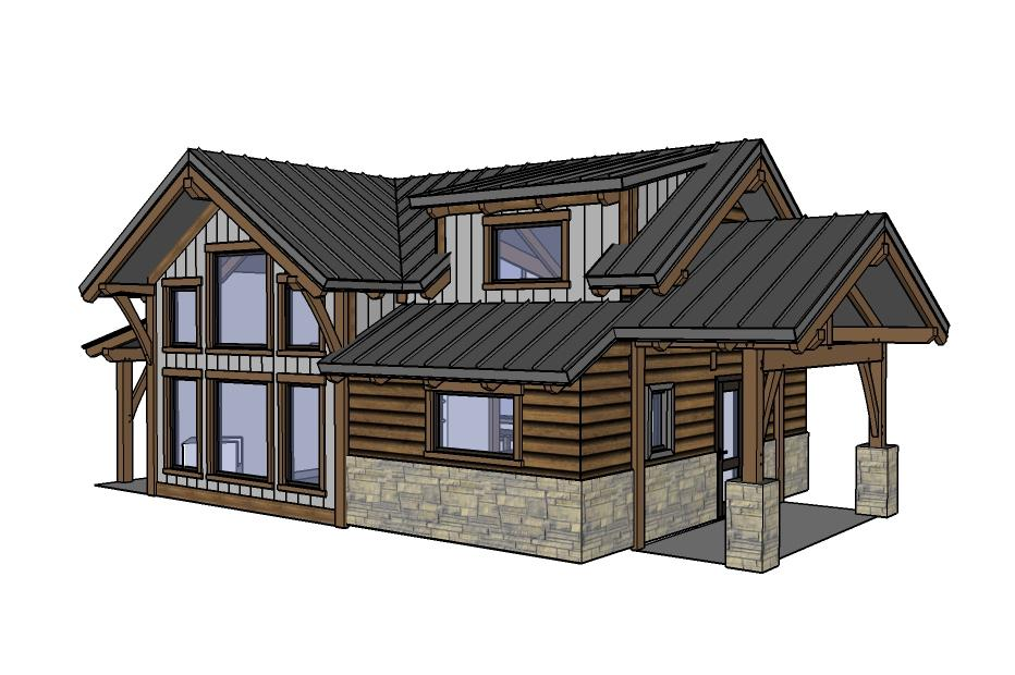 30+ Log Cabin Plans - Tiny Spaces Living