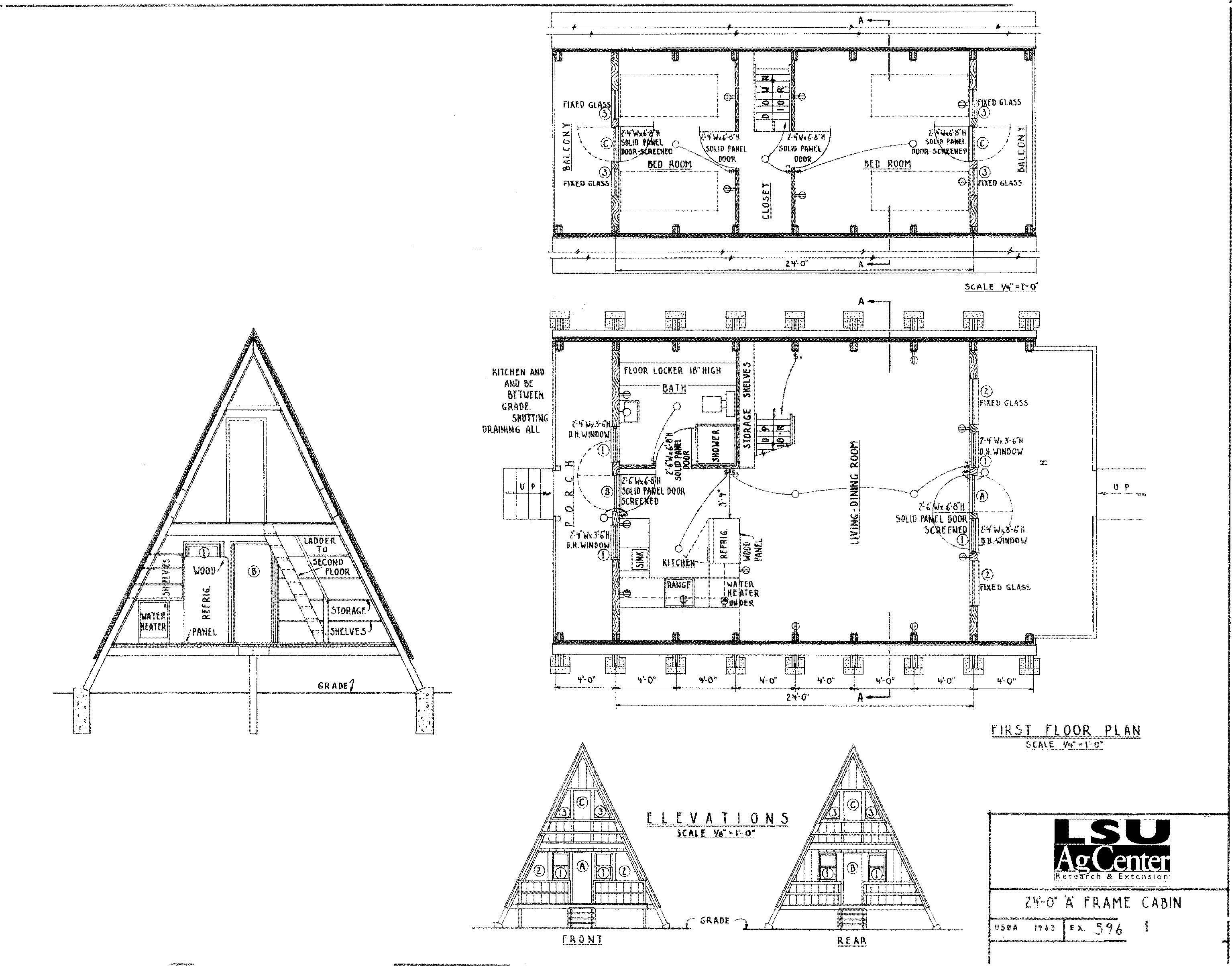 Merveilleux #27 U2013 The A Frame Cabin