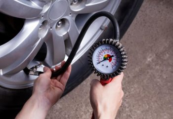 How to Inflate a Tire with a Portable Air Compressor?
