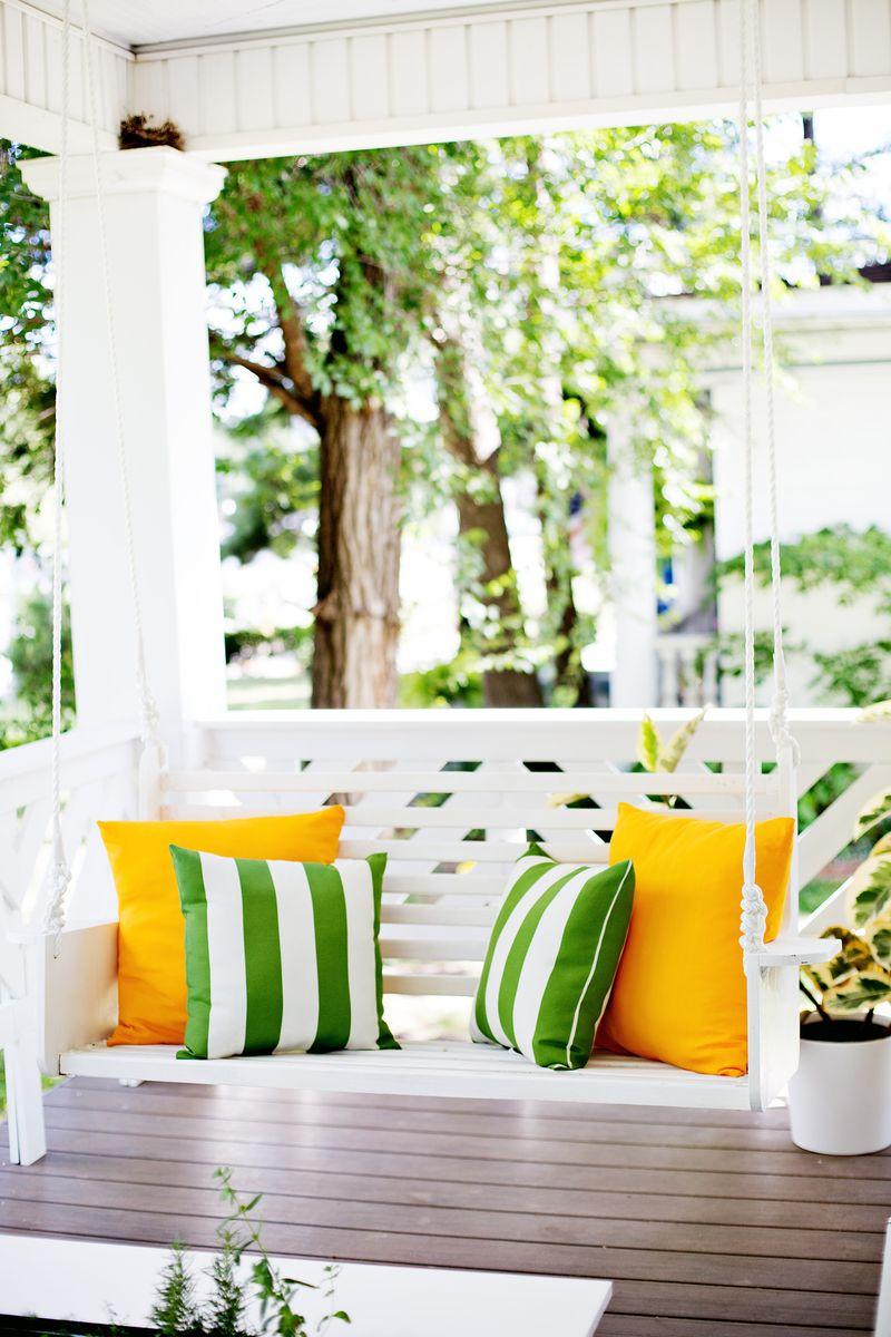 Colonial Cape Cod Porch Swing