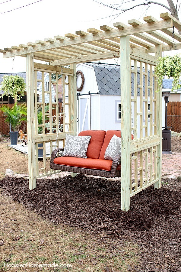 DIY Backyard Swing