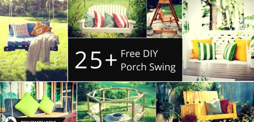 25+ Amazing DIY Porch Swing Plans to Try Right Now