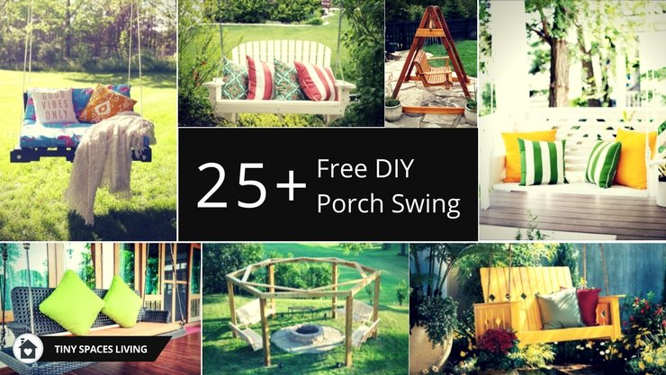 25+ Amazing DIY Porch Swing Plans to Try Right Now - It's FREE