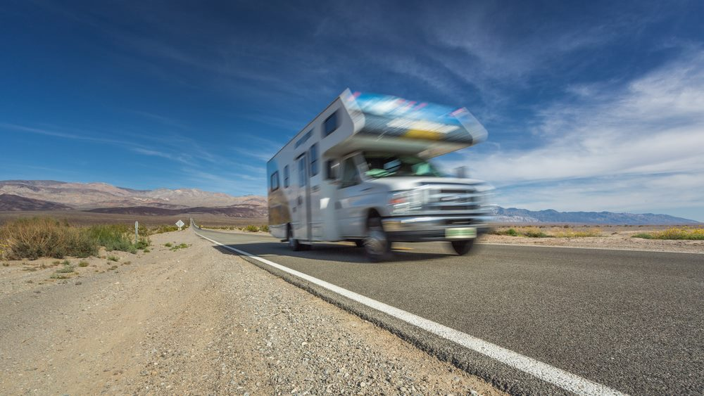 Driving an RV too fast