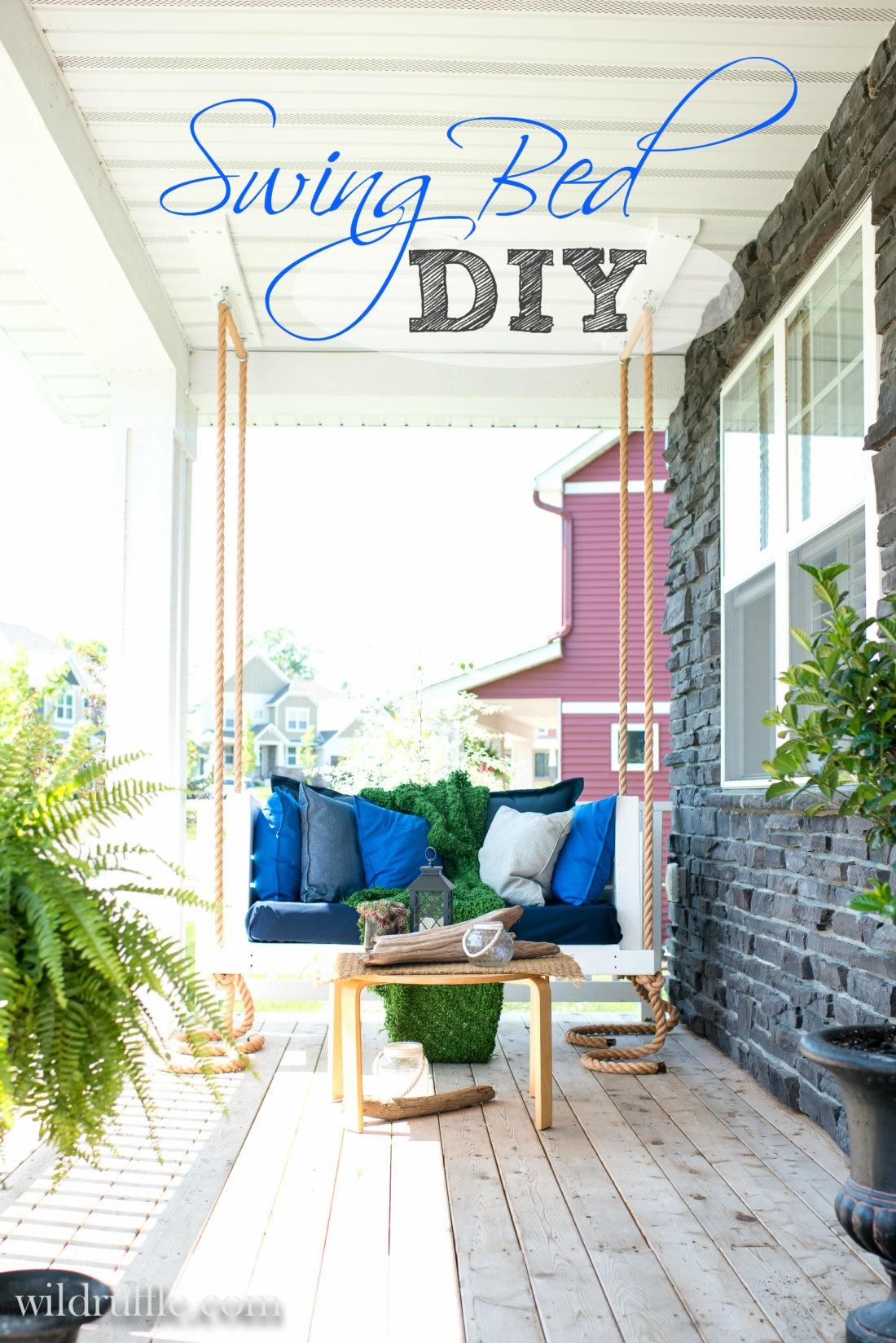 Porch SwingnBed DIY