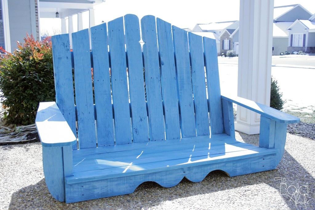 Build a Pallet Porch Swing