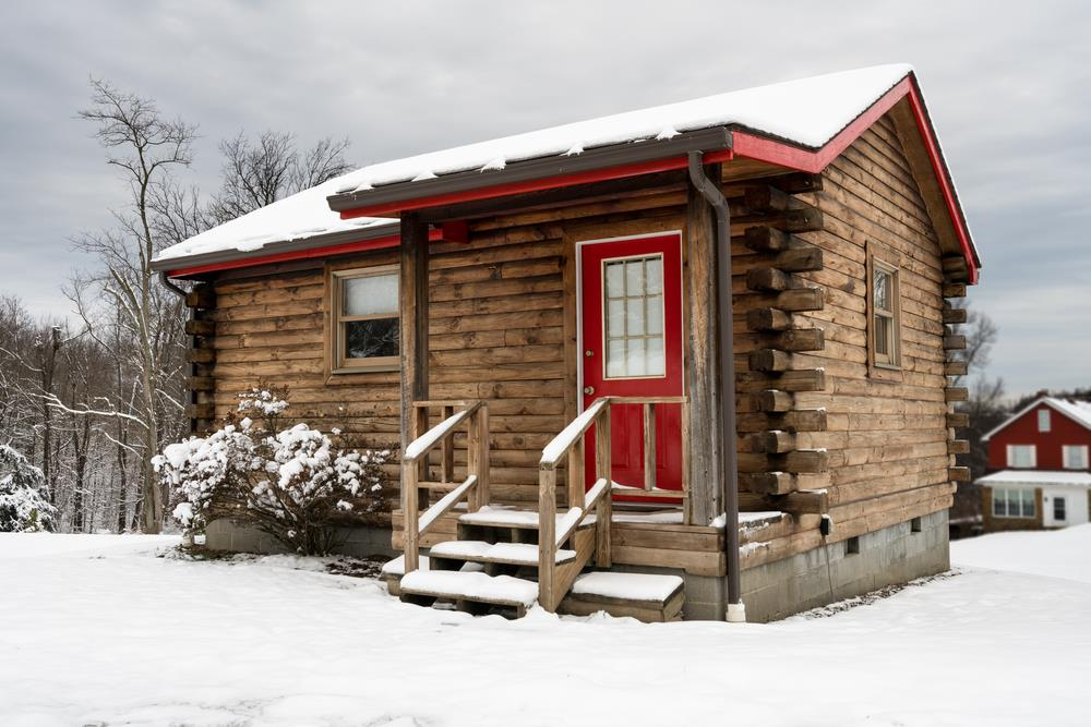 30 built it yourself log cabin plans i absolutely like for Winter cabin plans