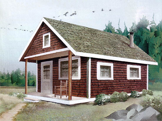 30+ Built It Yourself Log Cabin Plans - Tiny Spaces Living