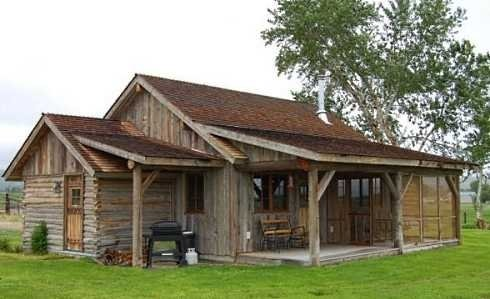 30 built it yourself log cabin plans i absolutely like for Fishing cabin floor plans