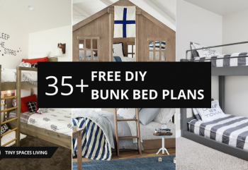 35+ Free DIY Bunk Bed Plans to Save Your Bedroom Space