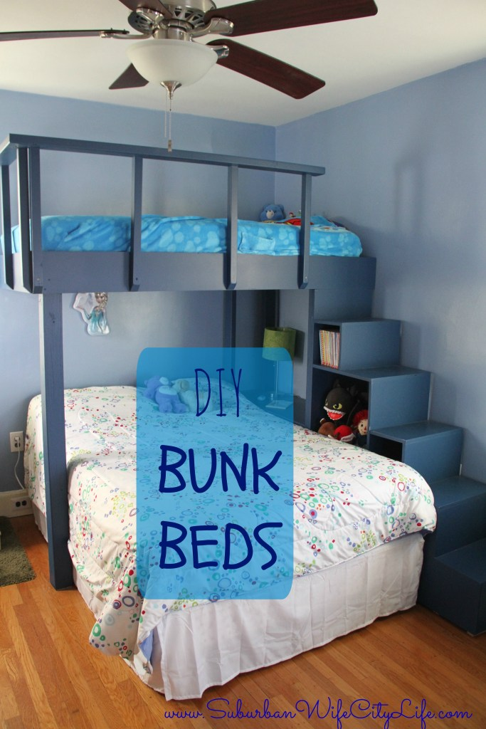 The Stair Step Bunk Beds