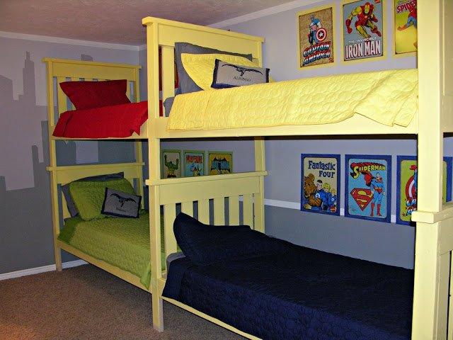 DIY 4 Beds in 1