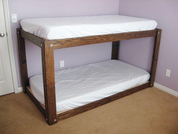 DIY Minimalist Bunk Bed