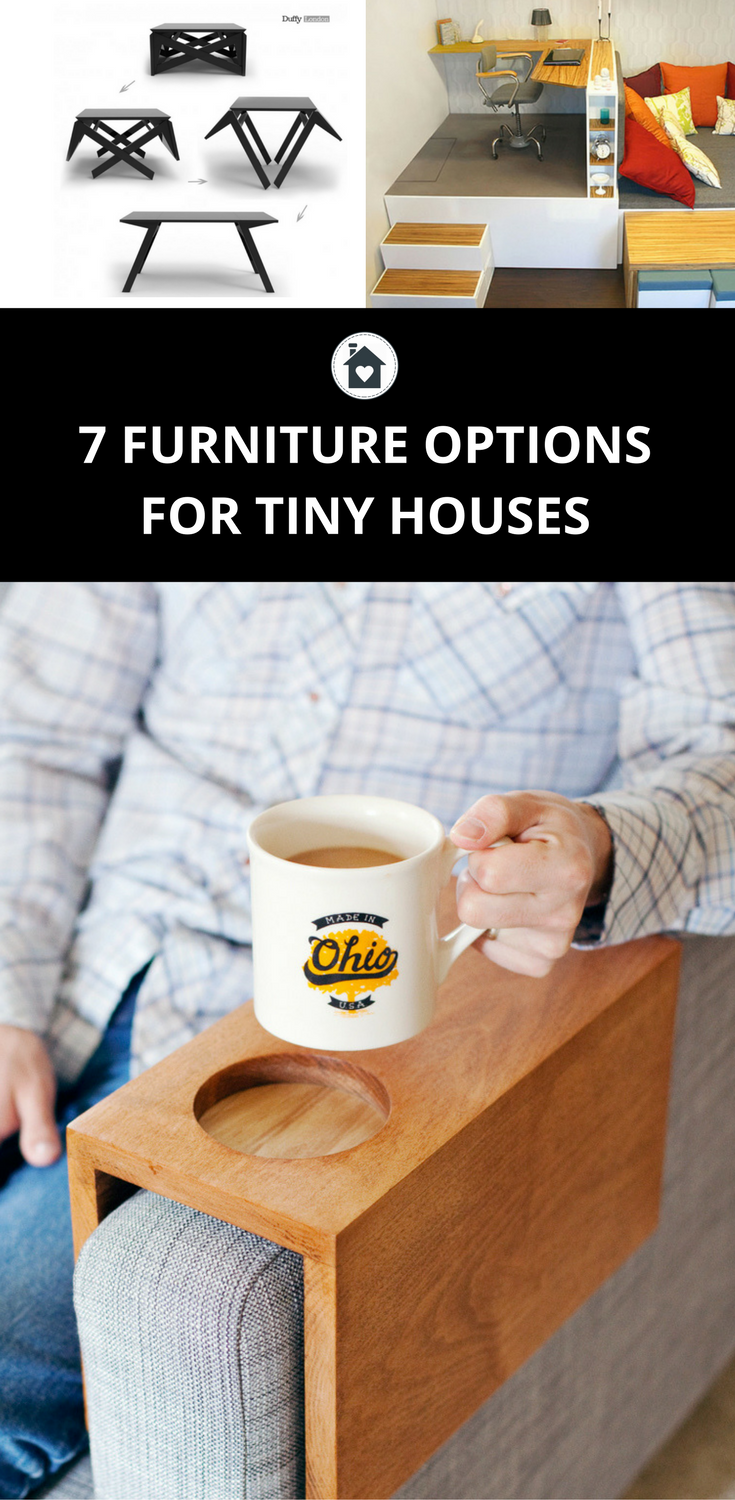 7 Furniture Options for Small Houses