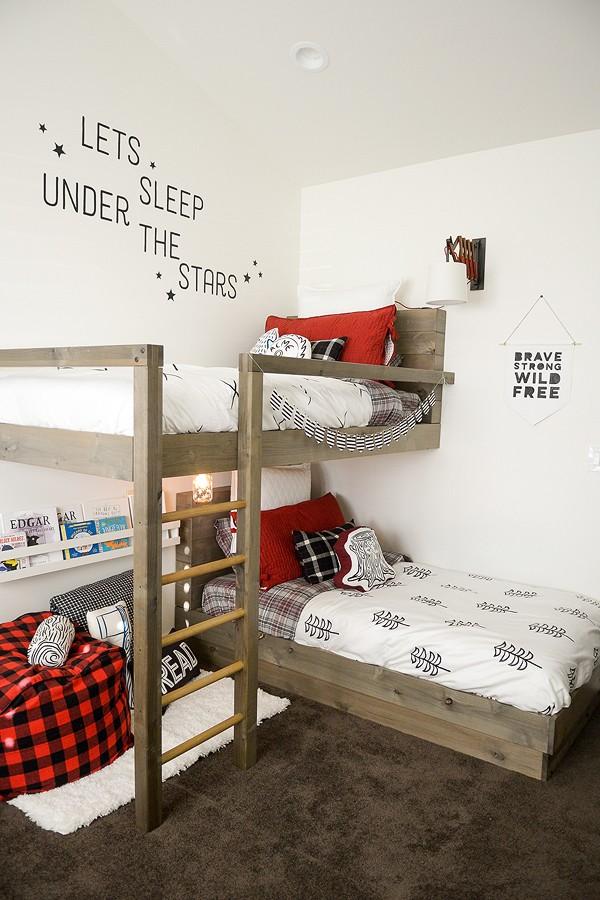 The Lumberjack Bedroom Bunk Beds