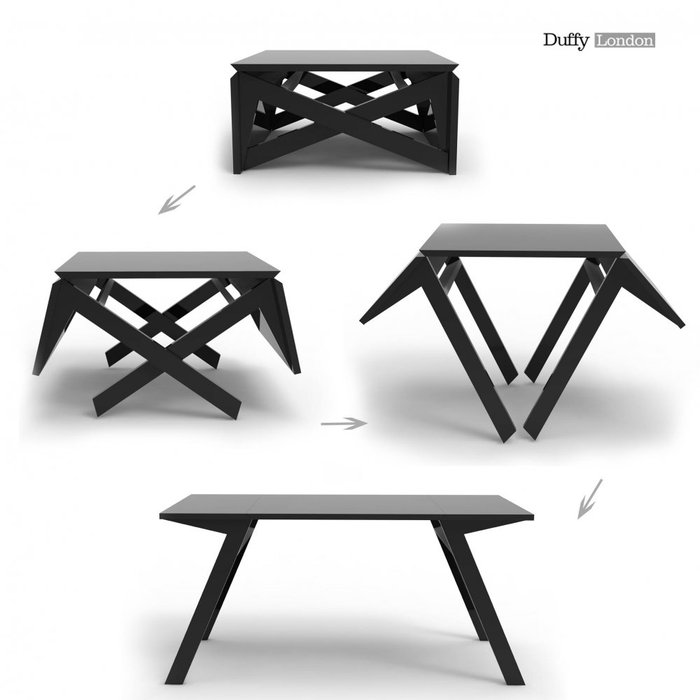 Transforming Table: For Coffee Or Dining