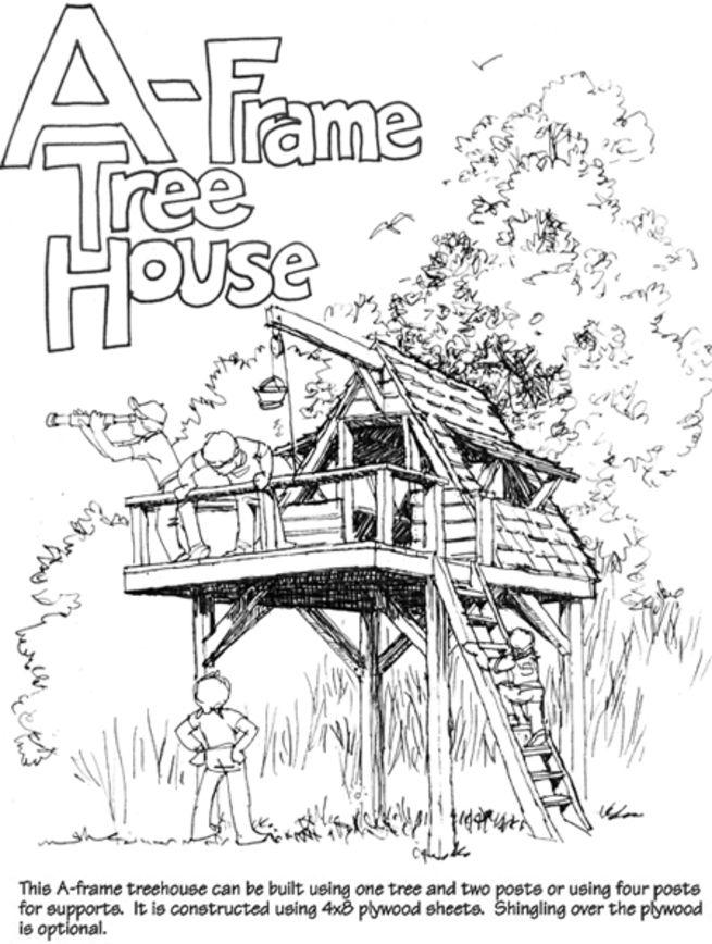 A-Frame Tree House