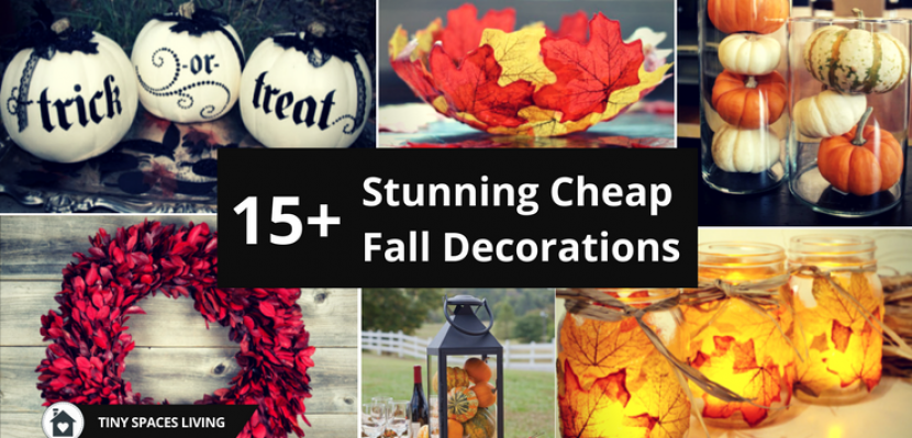 15+ Cheap Fall Decorations That I Absolutely Love