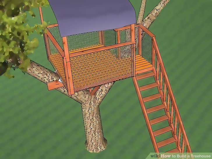 The Detailed Tree House Plans
