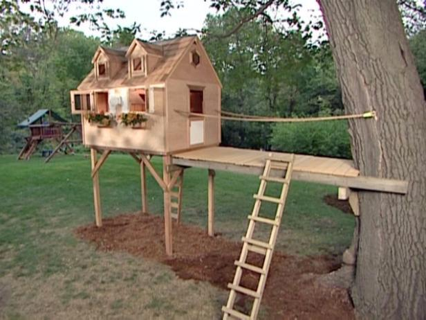 The Tree Fort from DIYNetWork