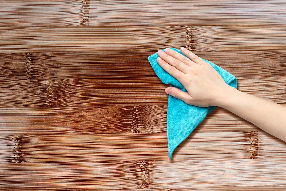 cleaning laminate furniture
