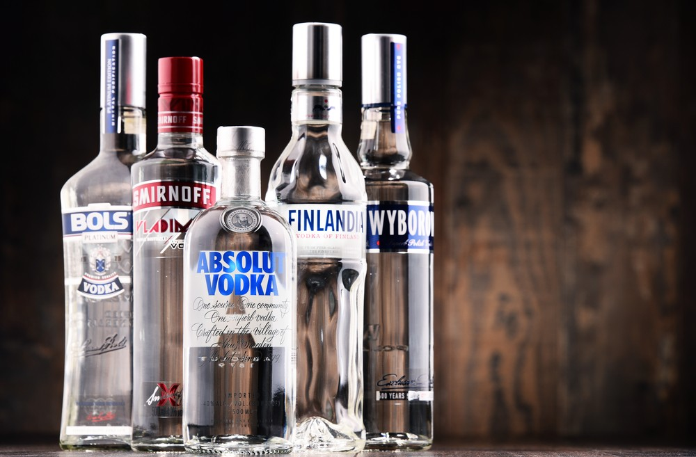 Use vodka to remove mildew smell