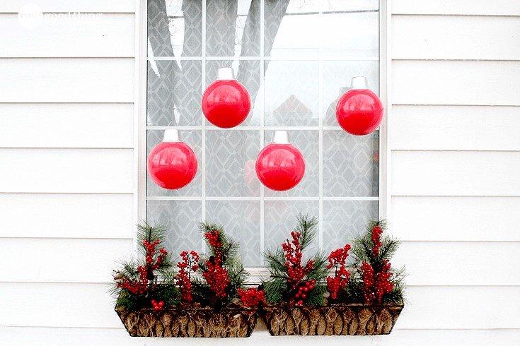 #14. Oversized Ornaments