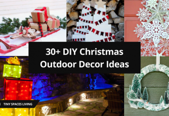 30+ DIY Christmas Outdoor Decor Ideas Will Make You Satisfied