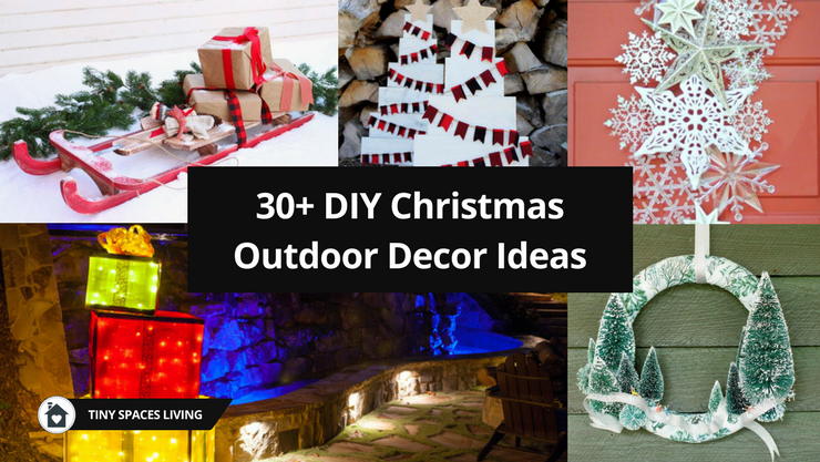30+ DIY Christmas Outdoor Decor Ideas – It Will Make You Satisfied