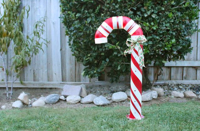 #7. A lighted PVC Candy