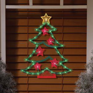 #9 – Make a Christmas Tree On Your Window