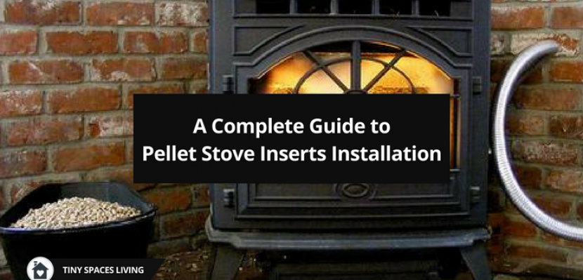 What do you need to hook up a pellet stove