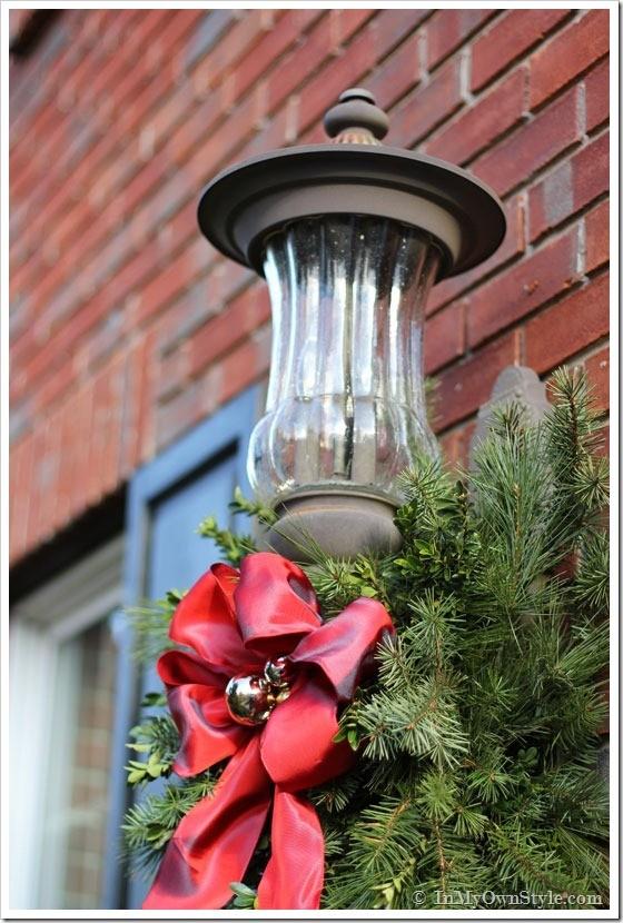 #12. Porch Light Hook-on Greenery